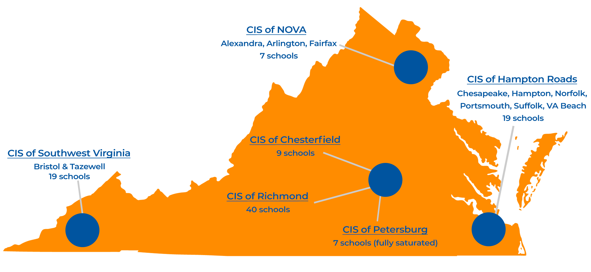 Our Network - CIS of Virginia